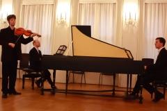 ...und brillieren zusammen mit James Hewitt im spontanen Trio