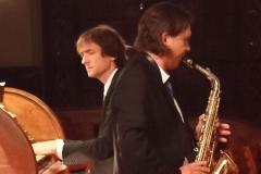 ...und dem Jazzduo David Timm/Reiko Brockelt