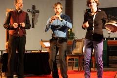 Poul Høxbro, Martin Erhardt, Nora Thiele